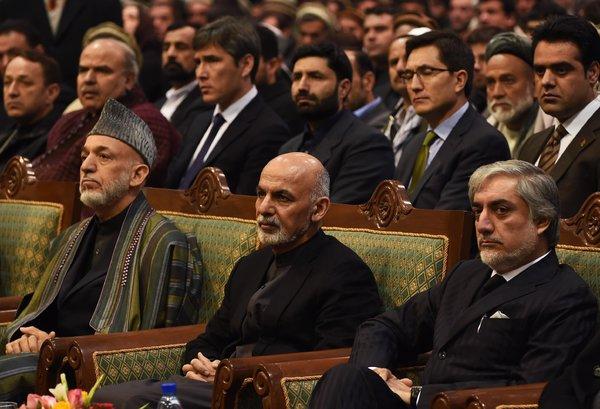 دولت افغانستان و رقیبان جدید