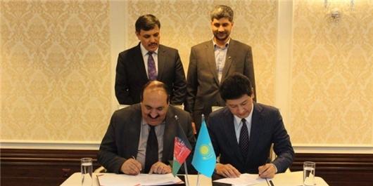افغانستان و قزاقستان قرارداد خرید اینترنت امضا کردند