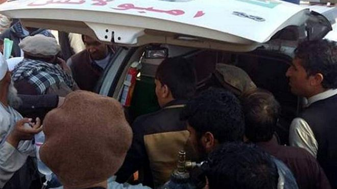 انفجار انتحاری در شرق افغانستان ۱۴ کشته و ۴۰ زخمی بجا گذاشت