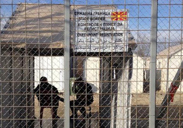 مرز مقدونیه بر روی پناهجویان افغان مسدود شد