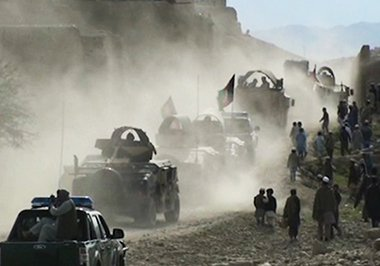 نظامیان افغان پایگاه اصلی داعش را در ولسوالی اچین تصرف کردند