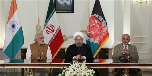 اشرفغنی: توافقنامه چابهار زمینه ساز تحول بزرگ در منطقه است