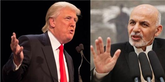 سران افغانستان توجه ترامپ را جلب کنند