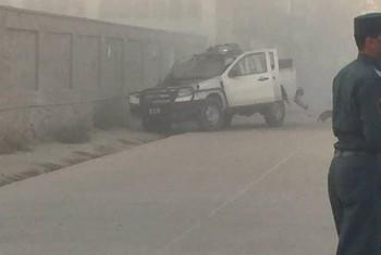 انفجار در نزدیکی وزارت تحصیلات عالی در کابل
