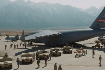 انفجار مهیب در پایگاه نظامی بگرام