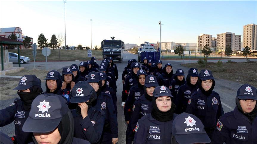 پروژه بزرگ آموزش زنان پولیس افغانستان در ترکیه