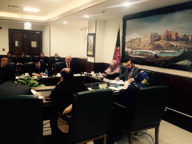 سفیر روسیه در پیوند به حمایت مسکو از طالبان به مجلس سنا حضور یافت