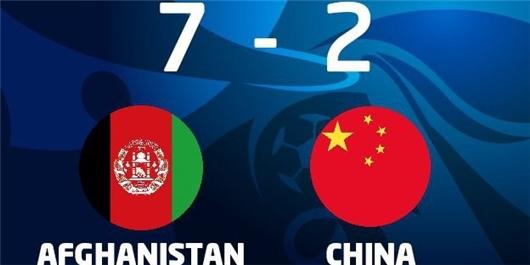 تیم فوتبال ساحلی افغانستان در مقابل چین به برتری دست یافت