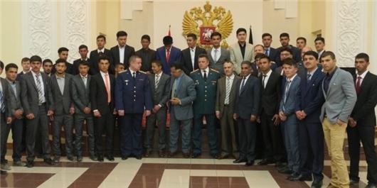 ۳۸ دانشجوی نظامی افغانستان برای تحصیل به روسیه اعزام شدند