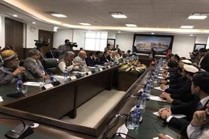 دیدار هیات پارلمان پاکستان با اعضای شورای ملی افغانستان
