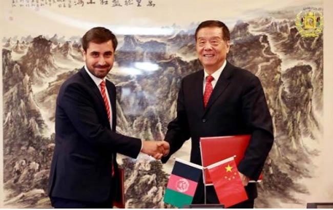 افغانستان و چين موافقتنامه همکارى هاى گمرکى امضا کردند