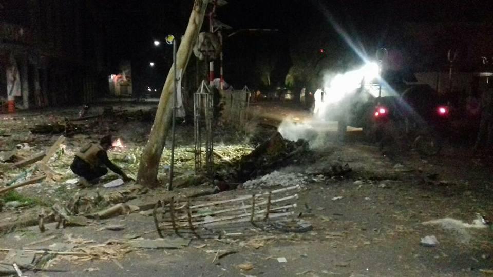 وقوع دو انفجار در ناحیه اول شهر قندهار