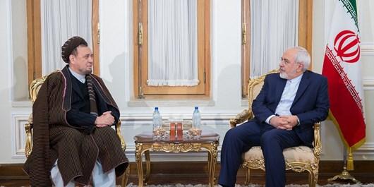 دیدار و گفتوگوی محمد محقق با وزیر امور خارجه ایران
