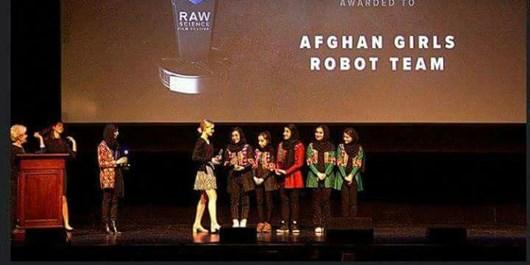 دختران رباتیک افغانستان برنده جایزه «کنراد» شدند
