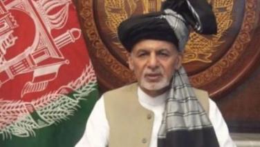 محمداشرف غنی با طالبان آتش بس اعلام کرد