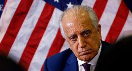 خلیلزاد: امریکا برای پایان تراژیدی افغانستان عجله دارد
