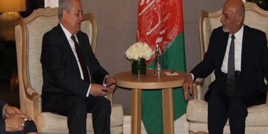 وزیر امور خارجه ازبکستان با «اشرف غنی» دیدار کرد