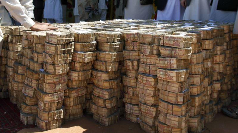 عواید داخلی افغانستان بیشتر از دو میلیارد دالر شده است