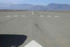 کار ساخت میدان هوایی بین المللی خوست به زودی به پایان می رسد
