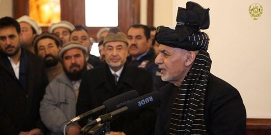 غنی: مجددی در تمام دوران حیاتش در خدمت ملت افغانستان بود