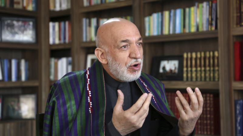کرزی: مصالحه با طالبان نباید به 'رقابت قدرتهای منطقه' بدل شود