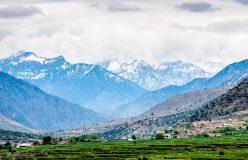 روستای زیبا در شمال افغانستان