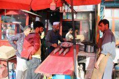 فروش ماهی و  جلبی در کابل – نوروز ۱۳۹۸