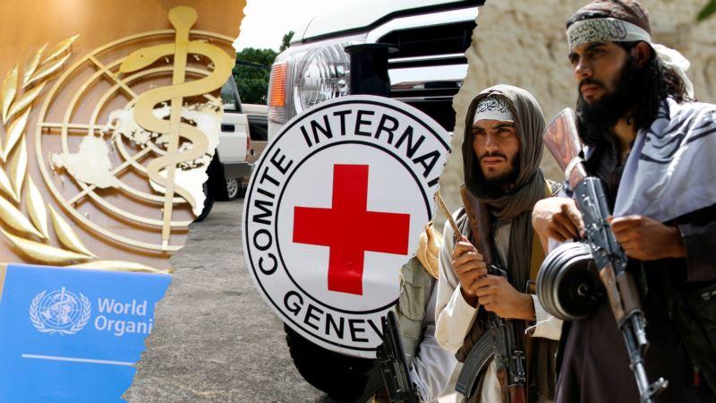 طالبان فعالیت سازمان جهانی صحت و صلیب سرخ را ممنوع کردند