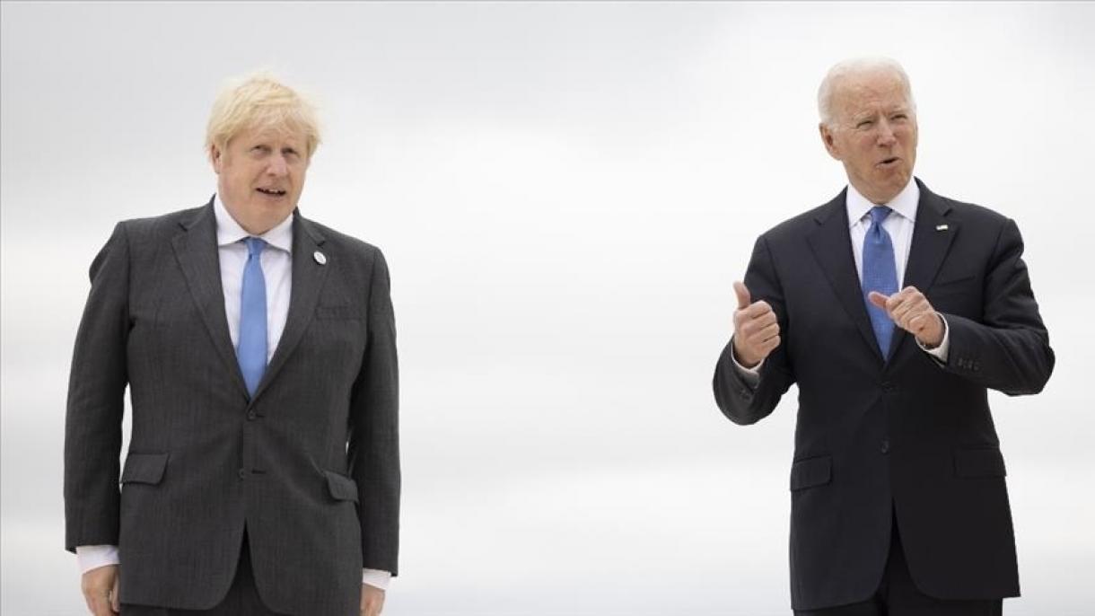 توافق بایدن و جانسون برای تشکیل نشست گروه هفت درباره افغانستان
