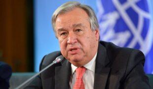 بیانیه آنتونیو گوتريش، سرمنشی سازمان ملل متحد در نشست عالی وزیران در مورد وضعیت بشری در افغانستان