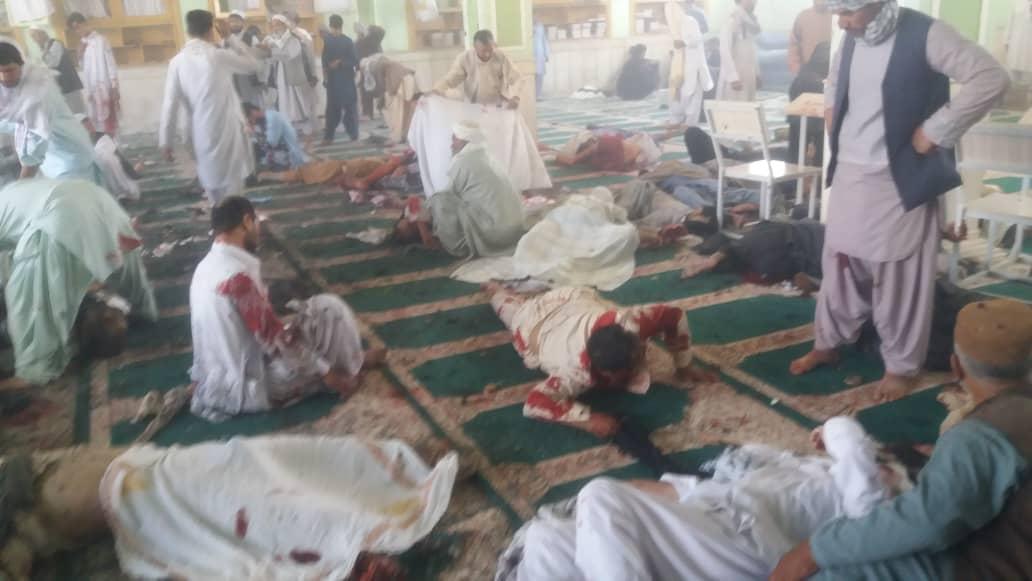 محکومیت جهانی جنایت داعش علیه نمازگزاران افغان